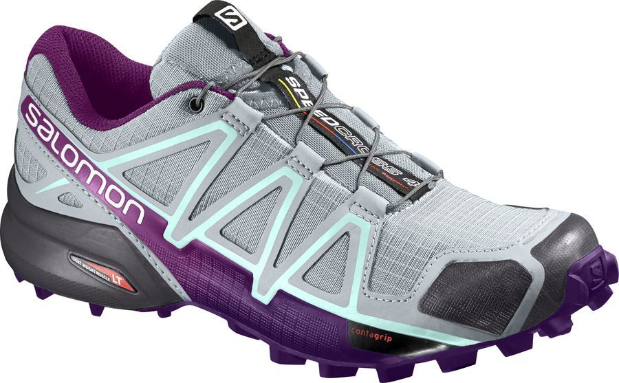 New Salomon Speedcross 4 W Quarry
