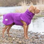 Dog Drying Coat - Magenta