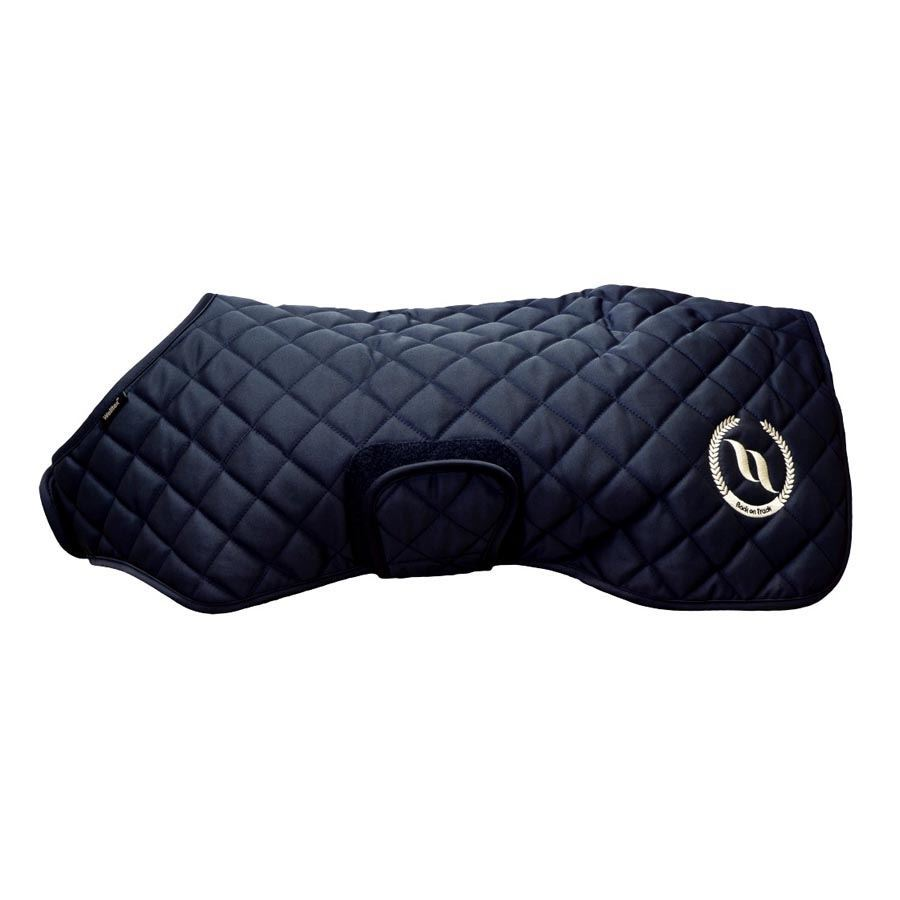 Back on Track Dark Nights quilted dog coat