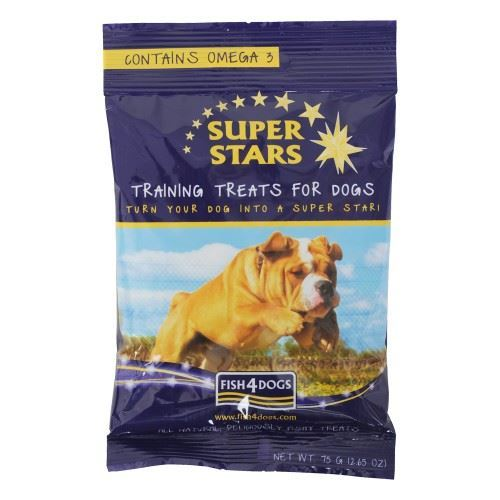 Fish4Dogs Super Stars Training Treats