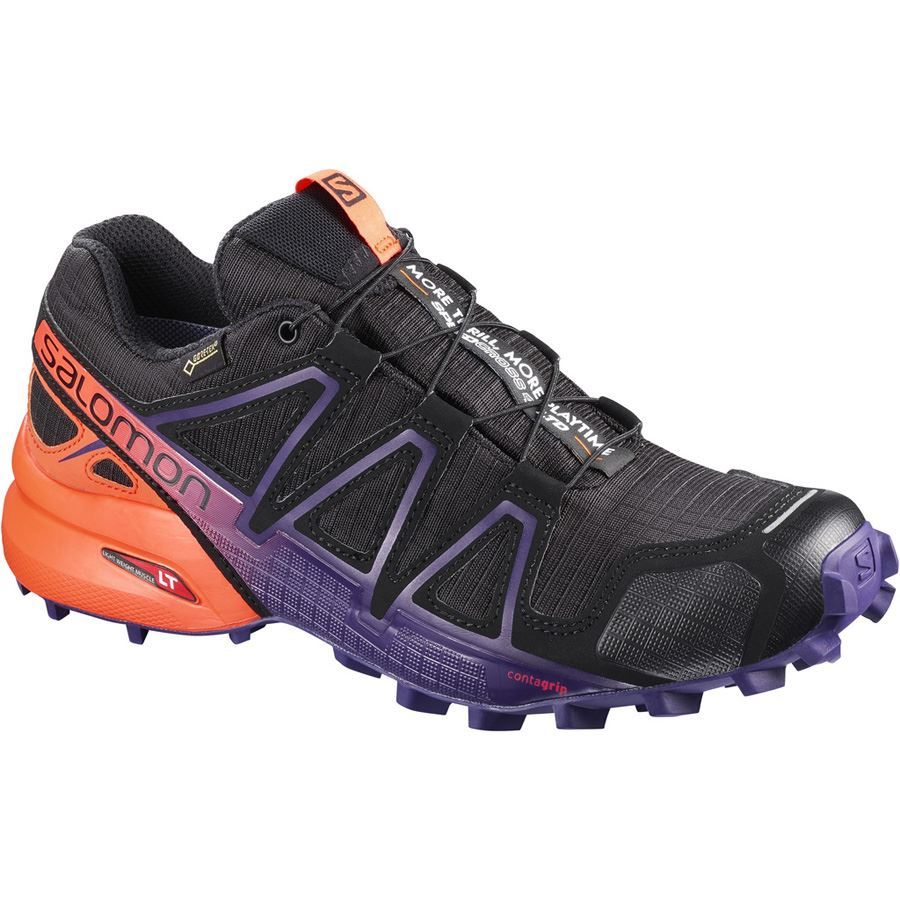 Limited Edition Speedcross 4 GTX® Black/Nasturtium