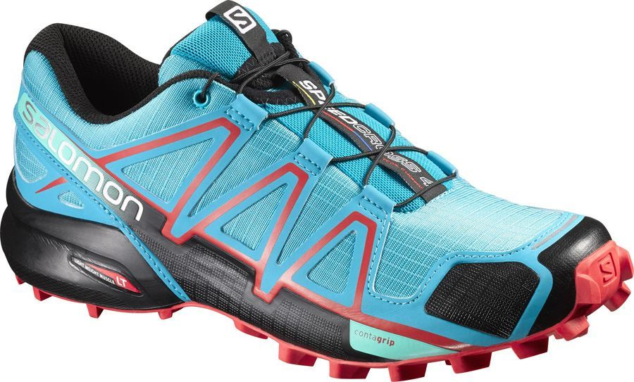 New Salomon Speedcross 4 W Blue Jay/Black/Infrared