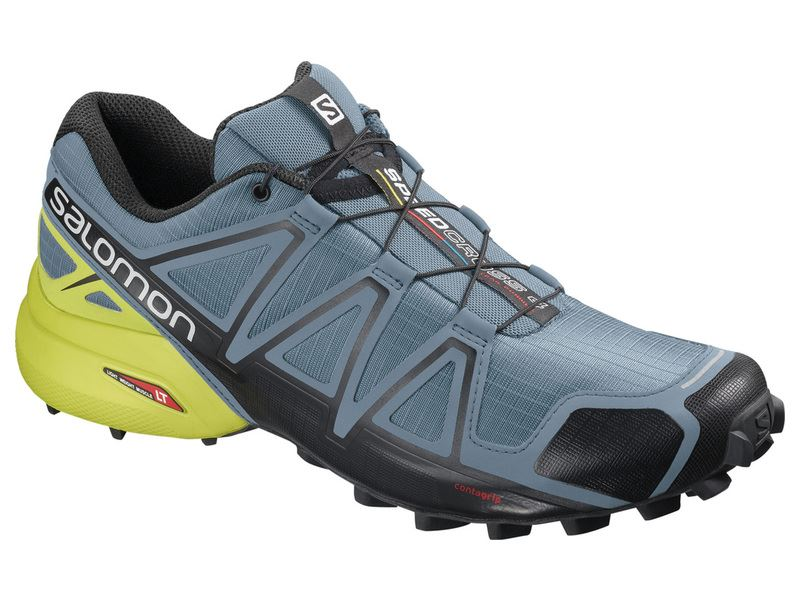 New 2019 Salomon Speedcross 4 - Bluestone/Sulphur
