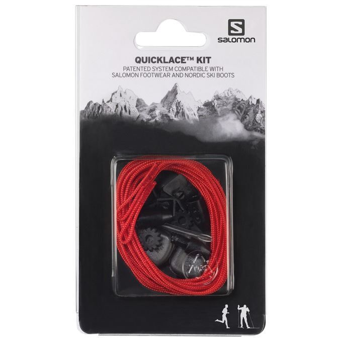 Salomon Quicklace Kit Red