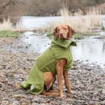 Dog Drying Coats - Green